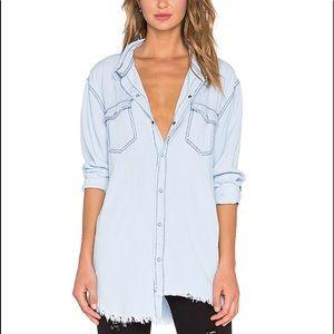 One Teaspoon lightweight button down shirt